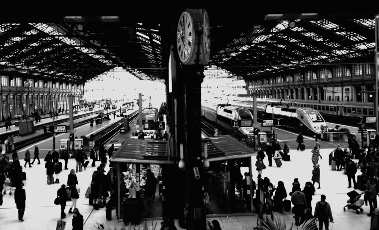 Gare de Lyon black and white.jpg