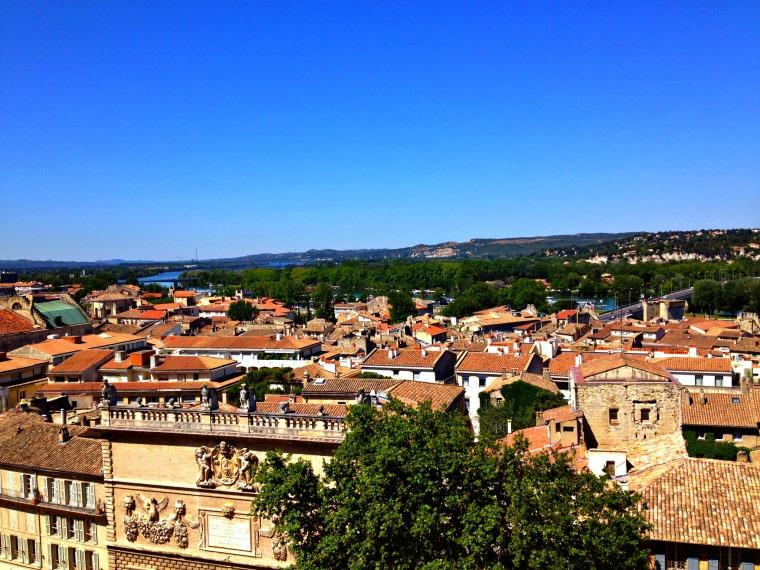 Avignon view Palais des Papes.jpg