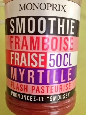 Monoprix smoothie