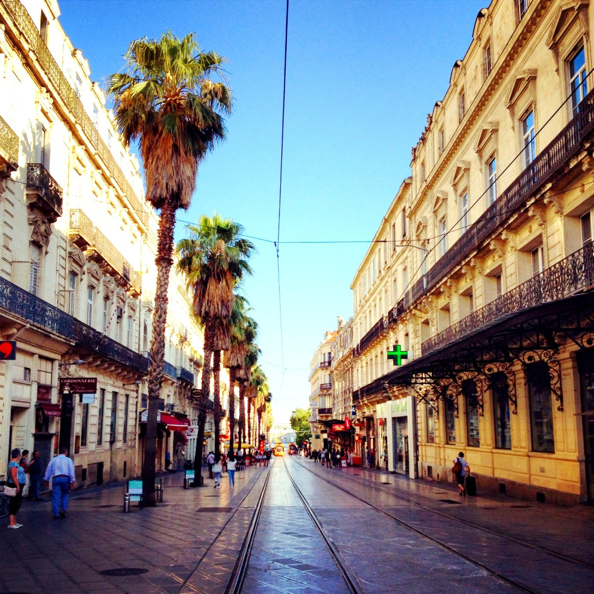 Falling for Montpellier