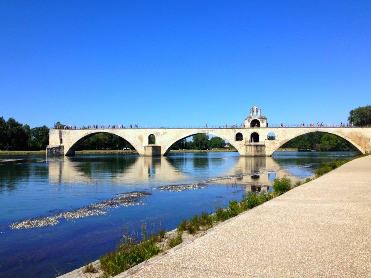 One day in Avignon