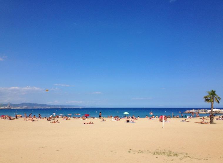 Barcelona beach 2
