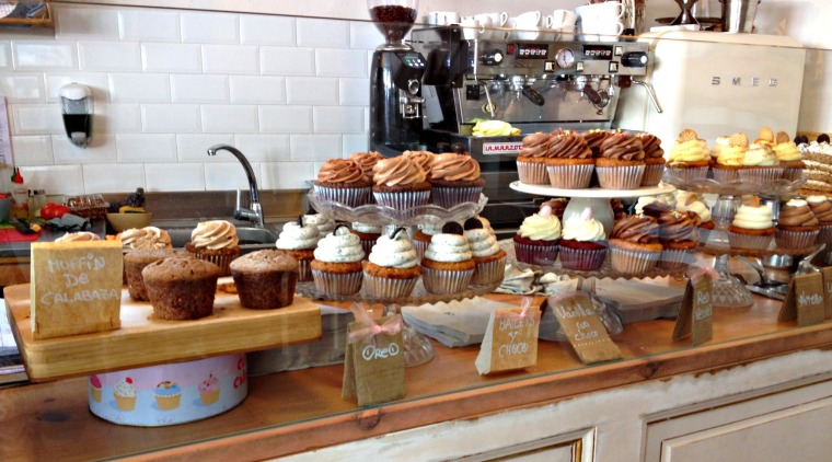 Barcelona cupcakes