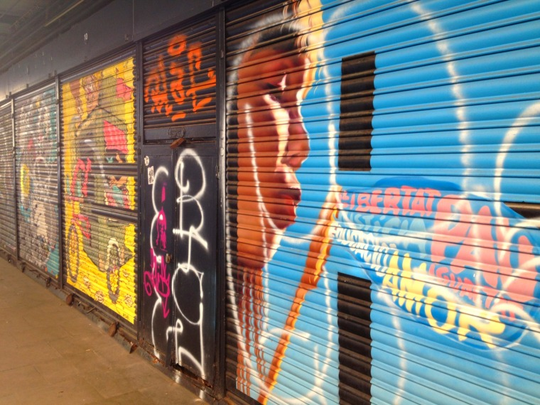 Barcelona Gracia street art