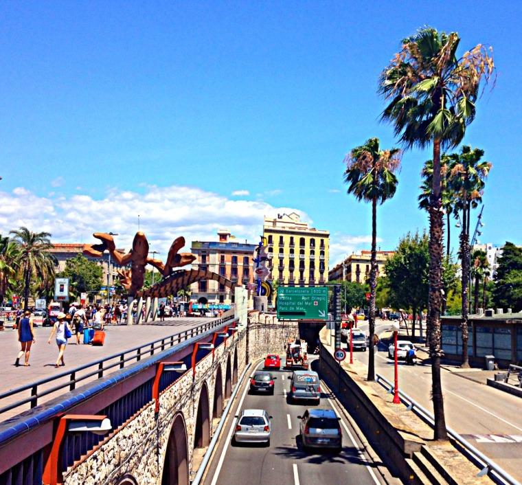 Barcelona highway