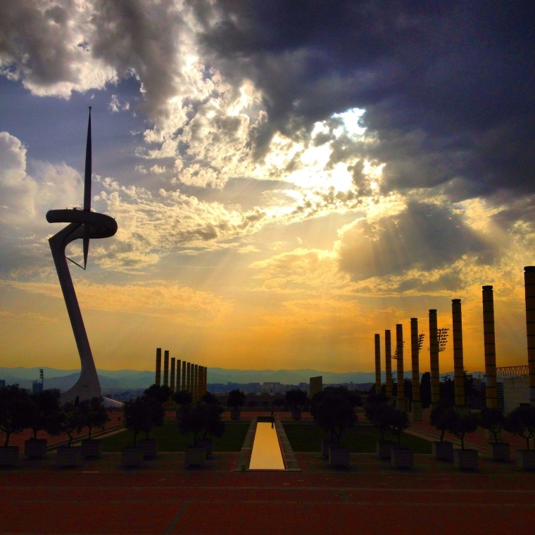 Barcelona Olympic view