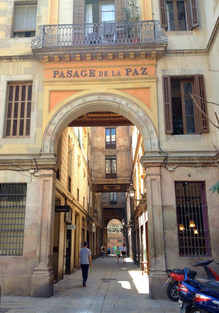 Barcelona Pasage de la paz