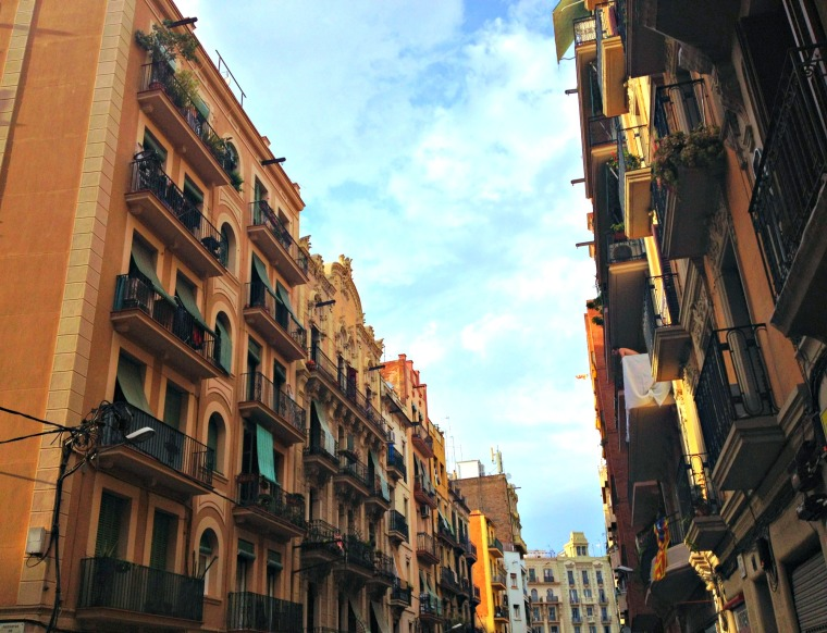 Barcelona Poble Sec street