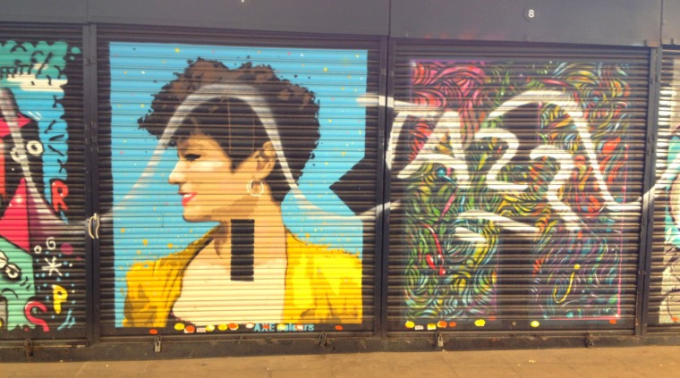 BBarcelona street art