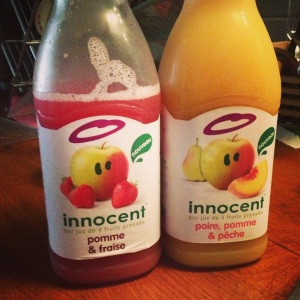 I was as innocent as this delicious juice.