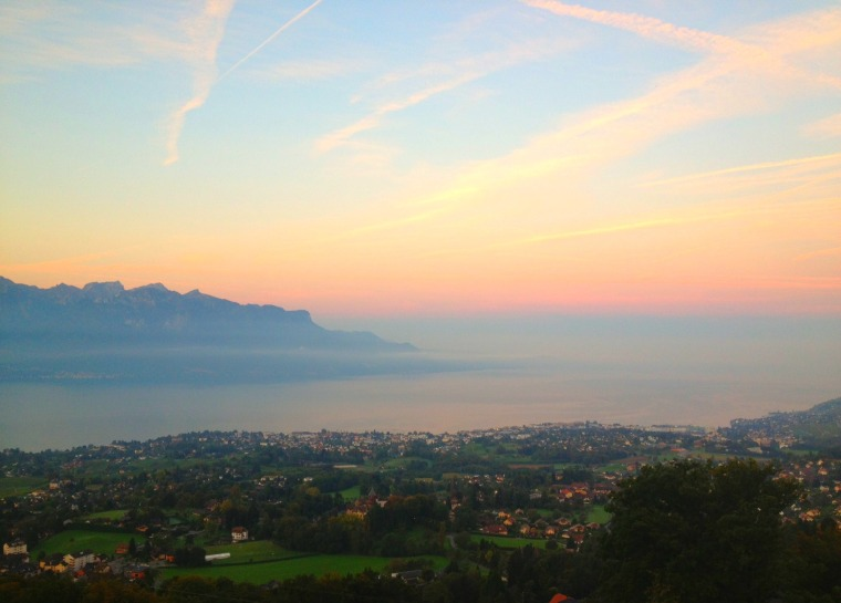 Vevey sunrise