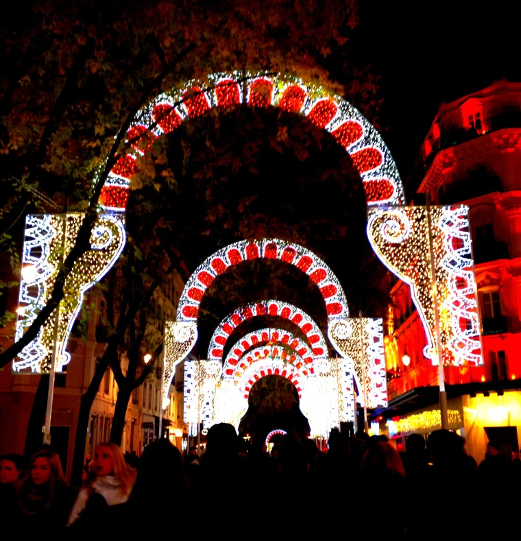 Fete des lumieres rue de la re arches