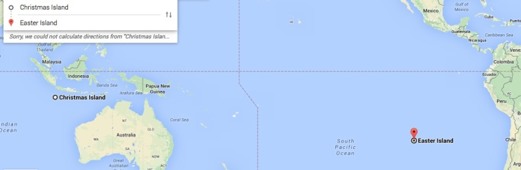 In case you were wondering where these islands actually are, like me.