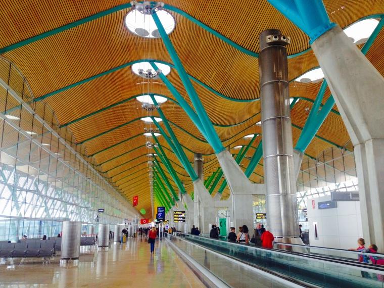 La Vie En C Rose: Madrid Airport