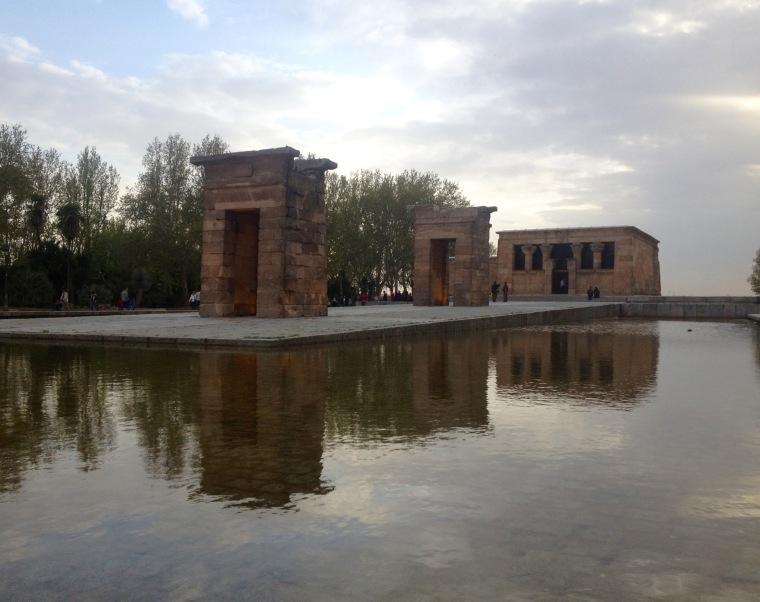 Templo de Debod Madrid La Vie En C Rose