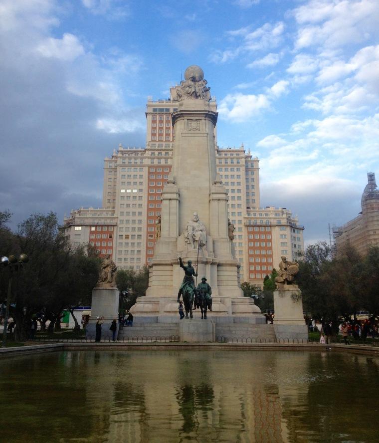 Plaza de España Madrid La Vie En C Rose