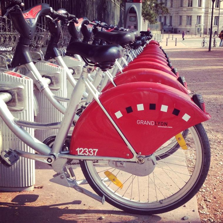 Vélov Lyon La Vie En C Rose