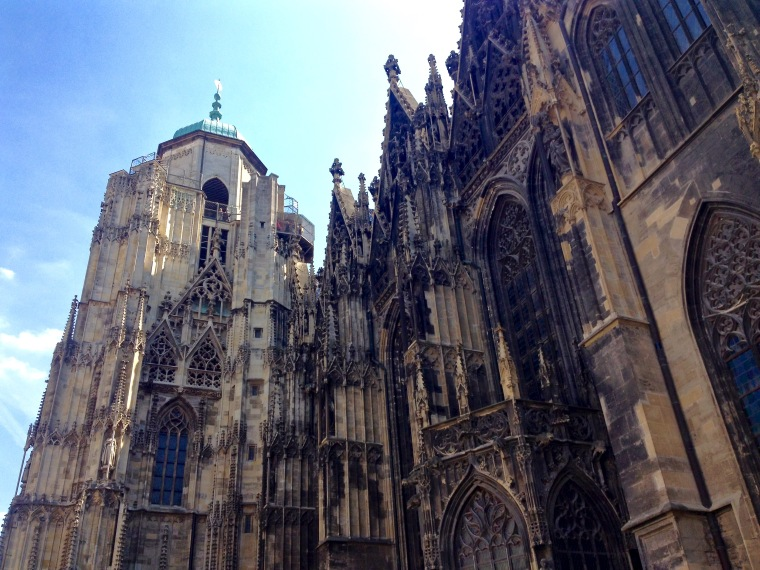 Saint Stephen's Cathedral, Vienna: la Vie En C Rose