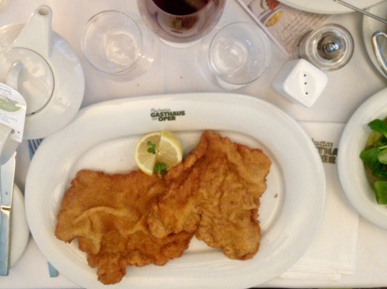 Wiener Schnitzel, Vienna, La Vie En C Rose