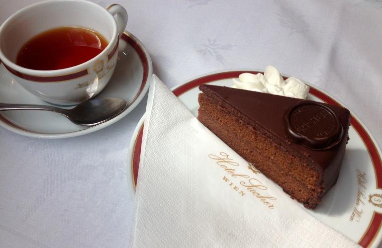 Sacher-torte, Vienna: La Vie En C Rose