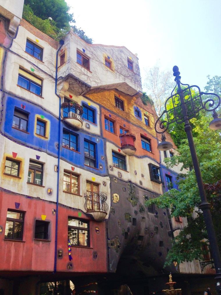 Hundertwasserhaus, Vienna, La Vie En C Rose