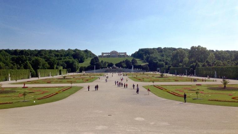 Schönbrunn, Vienna, La Vie En C Rose