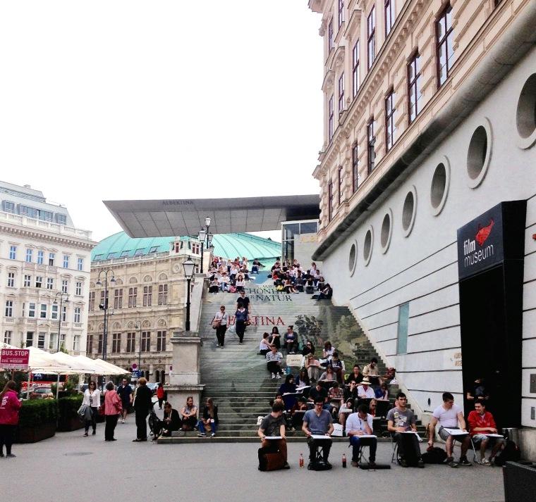 Albertina, Vienna: la Vie En C Rose