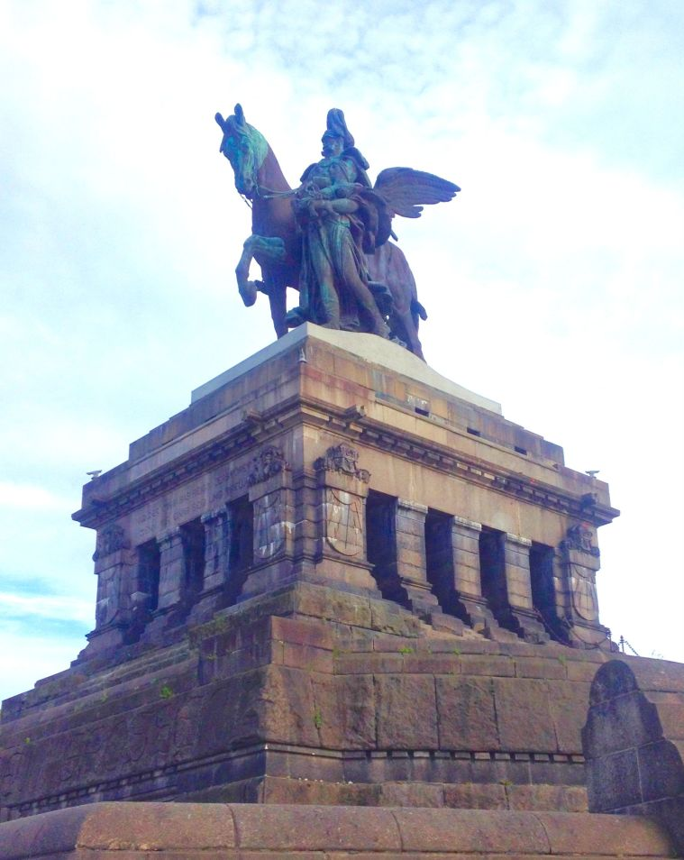 Koblenz Deutsches Eck La Vie En C Rose