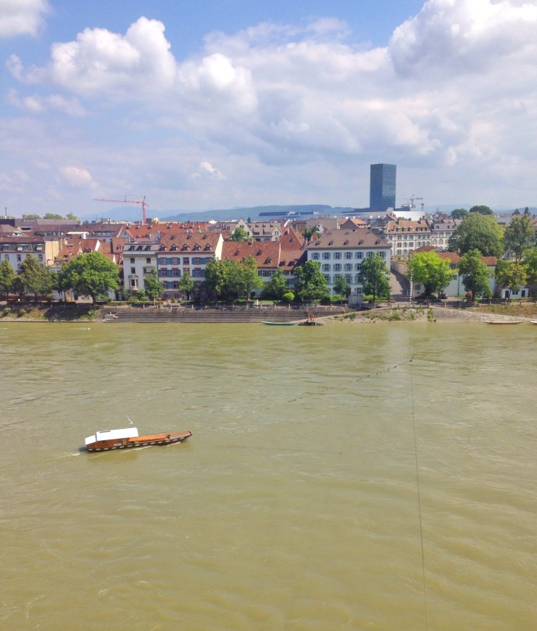 Basel, Switzerland, la Vie en C Rose