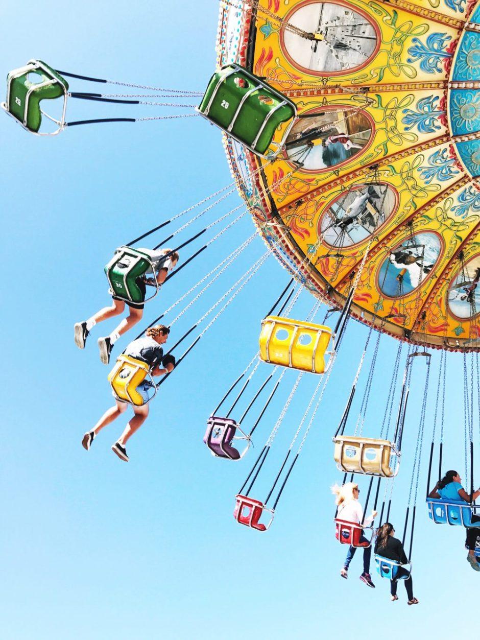 Carnival ride Santa Cruz